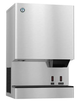 Hoshizaki DCM-300BAH-OS Touchless Air Cooled Nugget Ice Maker and Water Dispenser
